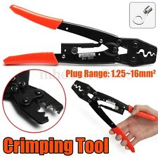 1.25~16 mm² Plug 50 Amp Cable Terminals Crimping Plier Tool  Wire Crimper