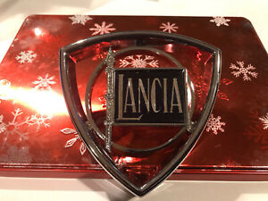 Lancia Zagato / Beta Coupe /HPE Front Grille Emblem- New for all 1975- 1984