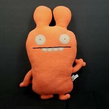 Ugly Doll Plunko Bright Orange Bunny Classic Plush Stuffed Animal Uglydolls 15""