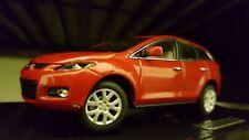 2006 2012 Mazda CX-7 CX7 dealer 1/43 1:43 scale diecast model car rare detailed.