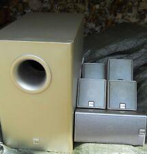 Audio pour Home cinéma Canton AS-5 5.1 Dolby Surround avec Caisson basse et 5 Hp