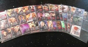 Dr Doctor Who TORCHWOOD Complete 200 Card Set - No repeats - In great condition