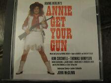 ANNIE GET YOUR GUN - STUDIO CAST RECORDING 1991 JOHN McGLINN CD IN TOP CONDITION