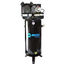 Mega Power Mp 6060vu 60 Gallon Vertical Air Compressor With Single Phase Motor