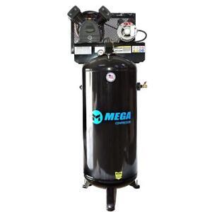 Mega Power MP-6060VU 60 Gallon Vertical Air Compressor w/ Single Phase Motor