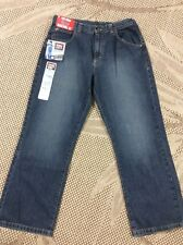 473be844 NEW Wrangler Heans CO. Yought Boys Straight Fit Jeans Size 16 Husky  Adjustable.