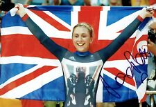 Laura TROTT Autograph Signed Olympic Photo 1 AFTAL COA Track Cyclist Gold Medal