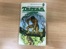 Tarzan And The Castaway, Edgar Rice Burroughs, vintage paperback 1974