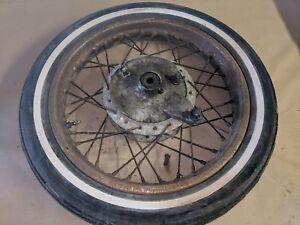 1959-1965 honda c92 125 cc front wheel breaking bike c95 c92 benly cb92