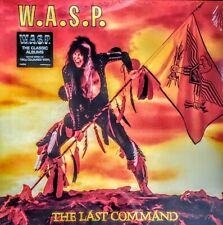 """WASP THE LAST COMMAND - 180 GRAM COLOURED VINYL LP """" NEW, SEALED """""""