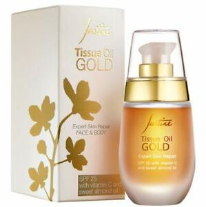 Avon Justine Tissue Oil Gold 50ml SPF 25