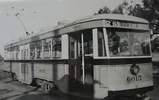 USA217 - BALTIMORE TRANSIT Co Belvedere Loop - TROLLEY CAR No6015 PHOTO - USA