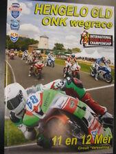 Programmaboekje ONK Wegrace Hengelo Gld 11-12 mei 2013