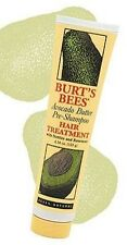 NWT Burt's Bees Avocado Butter Pre-Shampoo Hair Treatment Shampoo (4.34 fl oz)