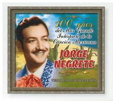 Jorge Negrete CD NEW 100 Anos Del Mas Grande Interpetre BOX SET 60 Canciones !