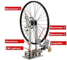 Hochwertig Zentrierständer für Fahrrad Laufräder  Neu Präzise CNC gefräst Alu