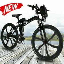 500W Electric Bike Foldable Mountain Bicycle City Commuter Ebike 48V Li-Battery^