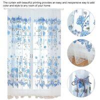 Modern Beautiful Polyester Pattern Window Bedroom Curtain Kitchen Bedroom Decor