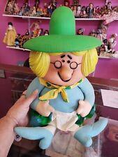 Mattel Pullstring Talking Mother Goose doll.   TALKS, EXCELLENT! 1960s.