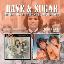 Dave & Sugar, Dave R - Greatest Hits / New York Wine & Tennessee Shine [New CD]