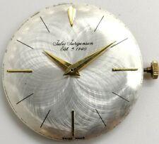 Vintage Jules Jurgensen AS 1193 17 jewel Fancy dial watch movement running