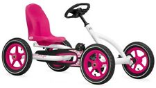 Pedal Power Go Kart - White - BERG Buddy