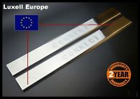 02-2013 Ford Transit Tourneo Connect Chrome Door Sill Scratch Guard 2Dr S.STEEL