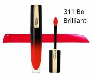 L'oreal Brilliant Signature Lip Ink - 6.4ml - Colour choice - New And Sealed