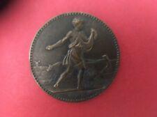 Medaille Société Des Agriculteurs De France / Enseignement Agricole
