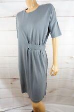 COS Small Gray Dress Lyocell Knee Length Dress S EUC
