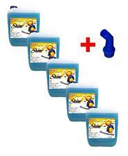 5x 5Ltr. Shine Gel + Ausgießer Flüssigwaschmittel Waschmittel Waschgel Liquid