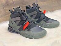 Mens Nike AIR FORCE 270 UTILITY Shoes -Black/Sequoia -AQ0572 300 -Sz 10.5 - New