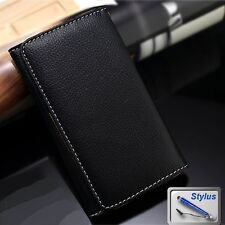 Black Wallet Money Card Leather Case Cover Huawei Ascend Y3 Y360 Y530 Y635 Y600