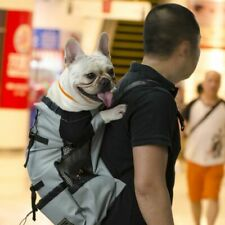 Dog Carrying Bags Adjustable Outdoor Travel Hiking Cycling Reflective Backpack