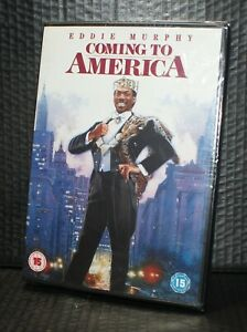 Coming to America dvd Run time 112 min approx Brand new foil P&P Free