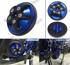 Left Engine Cover Stator Plug Slider Blue Fit 2014-2016 YAMAHA YZF R25 R3 MT-03