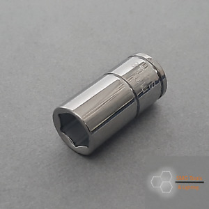 Blue Point 1/4'' Drive 8mm shallow socket 6pt Inc VAT New As Sold by Snap on