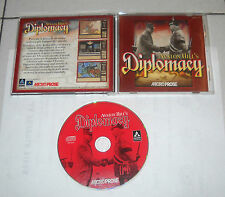 Gioco Pc Cd DIPLOMACY Avalon Hill's - Micro Prose 1999 ITA Hill