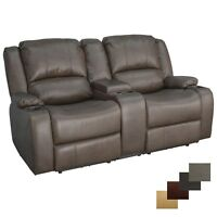 "RecPro Charles 67"" Powered Double RV Wall Hugger Recliner Sofa Loveseat"