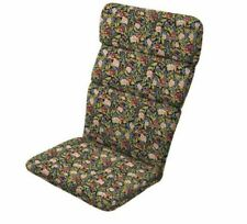 New listing Artsy Floral Red Adirondack Cushion Outdoor Patio Dining Thick Chair Cushions Re