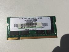 BARRETTE MEMOIRE PORTABLE 2 GB DDR2 ELPIDA 04G001618652 OCCASION (2792)