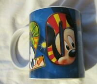 Walt Disney Orlando Florida Blue 2012 Ceramic Coffee Mug -Jerry Leigh EUC