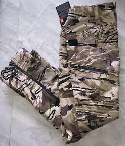 NWT Under Armour Storm Brow Tine Barren Camo Mid Season Kit Pants 1355317 999