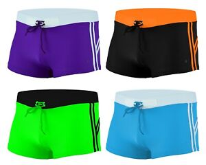ACCLAIM Fitness Bilbao Classic Fit Boxer Swimming Trunks Mens Lycra 2021 Model