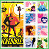 Topps Disney Collect - Incredibles Collection Poster Set w/award * GDL