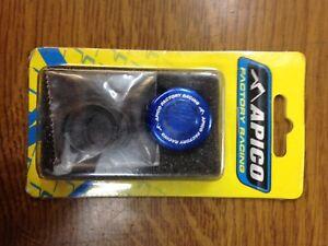 New Apico Blue Oil Fill Plug for HONDA/KAWASAKI/YAMAHA/SUZUKI >15