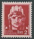 1929-42 REGNO IMPERIALE 2 LIRE MNH ** - CZ33