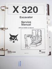Bobcat X 320 X320 Excavator Service Manual
