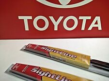 2009-2013 MATRIX      Replacement Front Genuine Toyota SightLine Wiper Blade Set