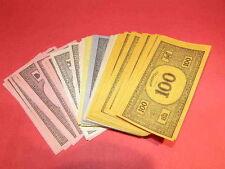 Monopoly Gioco fascio di denaro, ideale giochi di carte, in buone condizioni GRATIS UK POST
